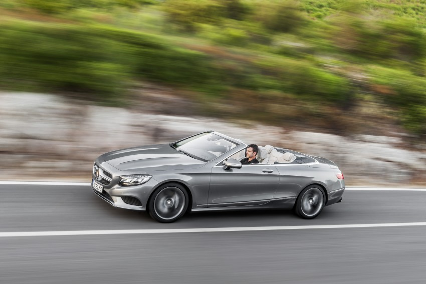 Mercedes-Benz S-Class Cabriolet officially revealed Image #374262