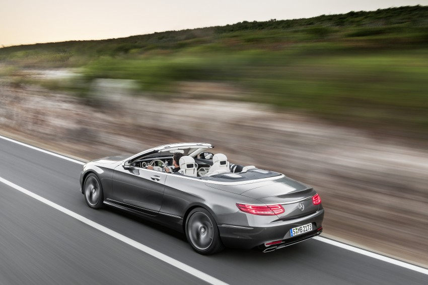 Mercedes-Benz S-Class Cabriolet officially revealed Image #374264