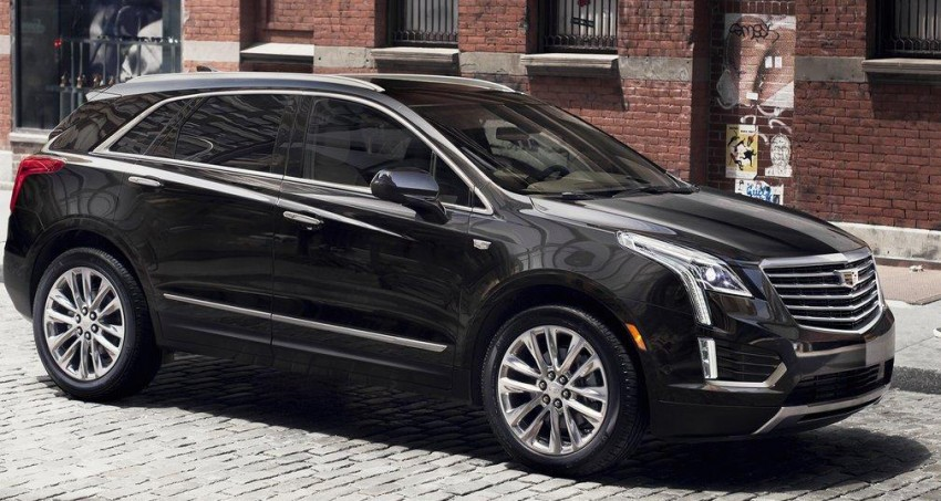 VIDEO: 2017 Cadillac XT5 SUV teased via NYC flyby Image #378471
