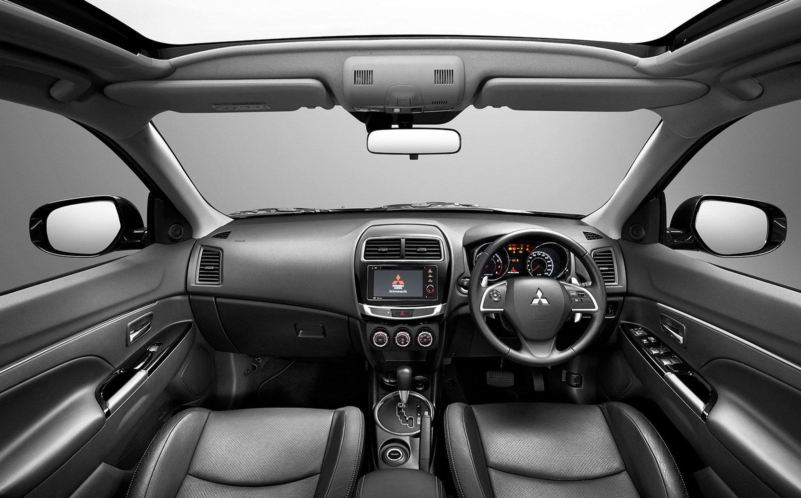 Mitsubishi asx range
