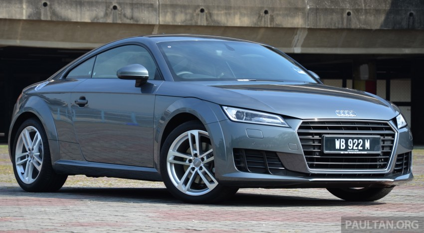 DRIVEN: 2015 Audi TT 2.0 TFSI – trading feel for speed Image #374894