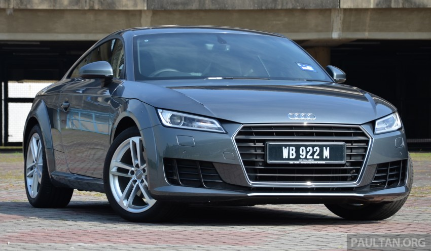 DRIVEN: 2015 Audi TT 2.0 TFSI – trading feel for speed Image #374895