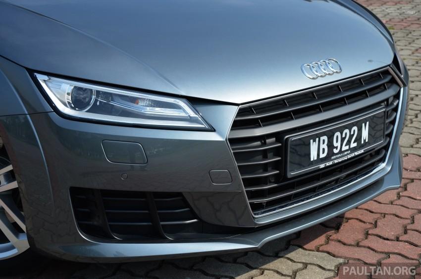 DRIVEN: 2015 Audi TT 2.0 TFSI – trading feel for speed Image #374897