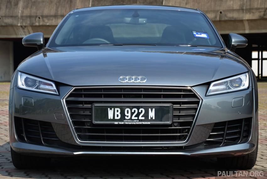 DRIVEN: 2015 Audi TT 2.0 TFSI – trading feel for speed Image #374902