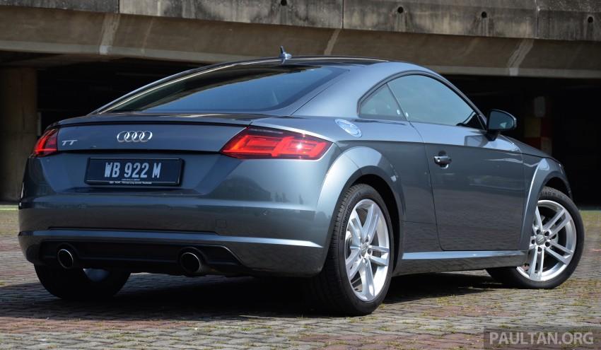 DRIVEN: 2015 Audi TT 2.0 TFSI – trading feel for speed Image #374904