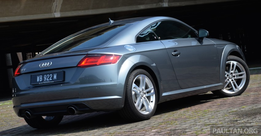 DRIVEN: 2015 Audi TT 2.0 TFSI – trading feel for speed Image #374905