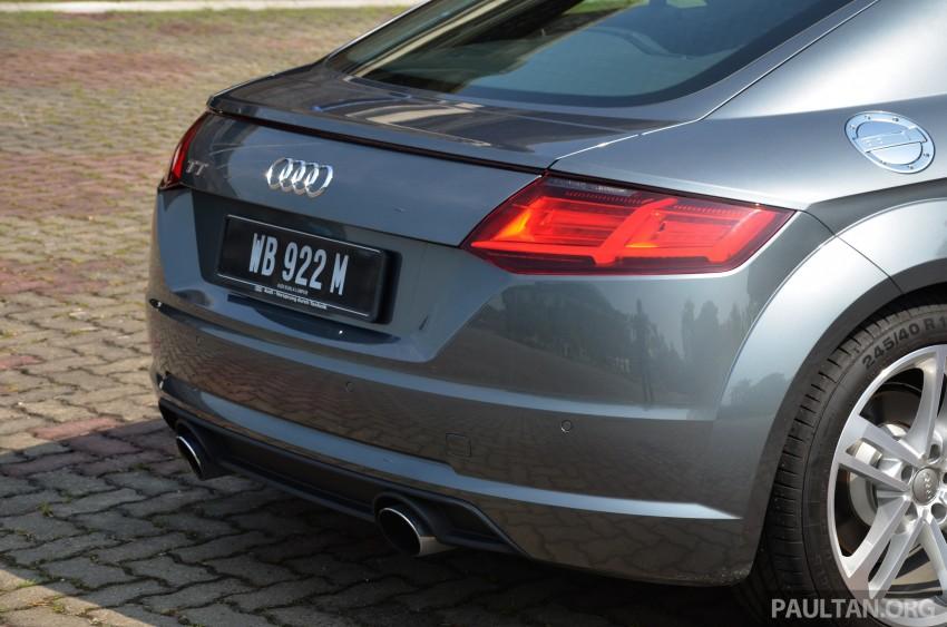 DRIVEN: 2015 Audi TT 2.0 TFSI – trading feel for speed Image #374908