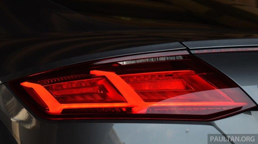 DRIVEN: 2015 Audi TT 2.0 TFSI – trading feel for speed Image #374916