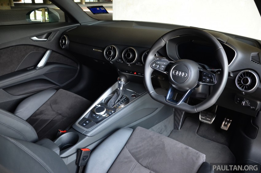 DRIVEN: 2015 Audi TT 2.0 TFSI – trading feel for speed Image #374931