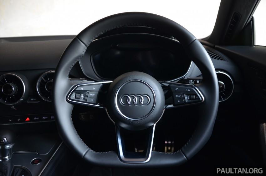 DRIVEN: 2015 Audi TT 2.0 TFSI – trading feel for speed Image #374939