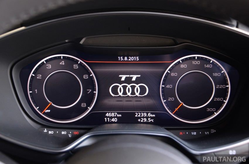 DRIVEN: 2015 Audi TT 2.0 TFSI – trading feel for speed Image #374940