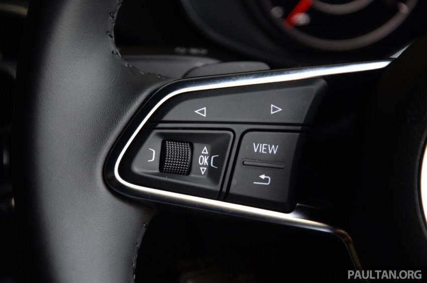 DRIVEN: 2015 Audi TT 2.0 TFSI – trading feel for speed Image #374941
