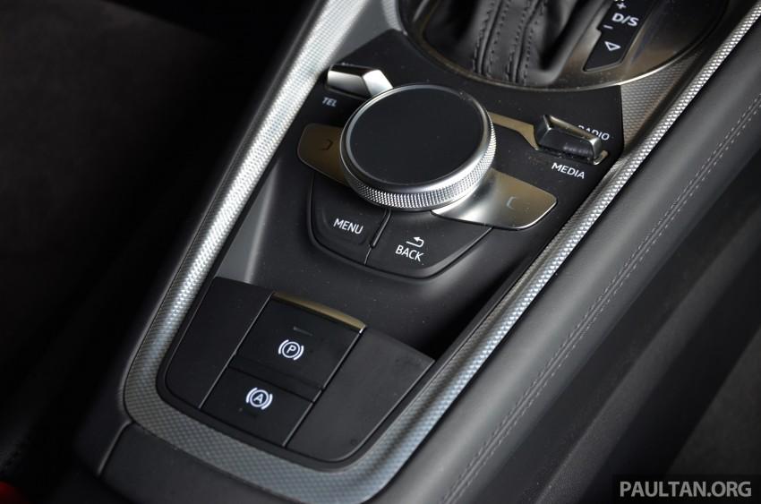 DRIVEN: 2015 Audi TT 2.0 TFSI – trading feel for speed Image #374945