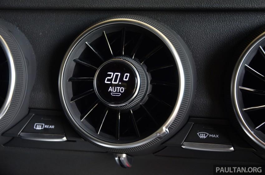 DRIVEN: 2015 Audi TT 2.0 TFSI – trading feel for speed Image #374947