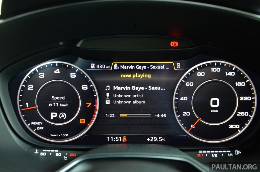 DRIVEN: 2015 Audi TT 2.0 TFSI – trading feel for speed Image #374949