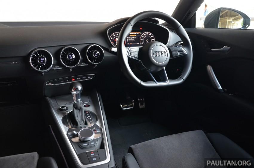 DRIVEN: 2015 Audi TT 2.0 TFSI – trading feel for speed Image #374951