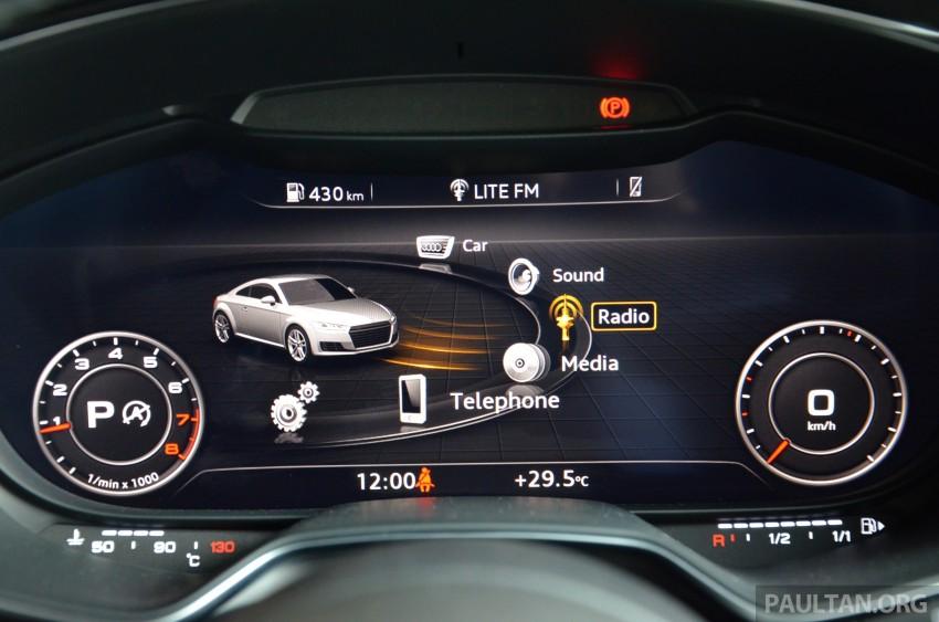 DRIVEN: 2015 Audi TT 2.0 TFSI – trading feel for speed Image #374953