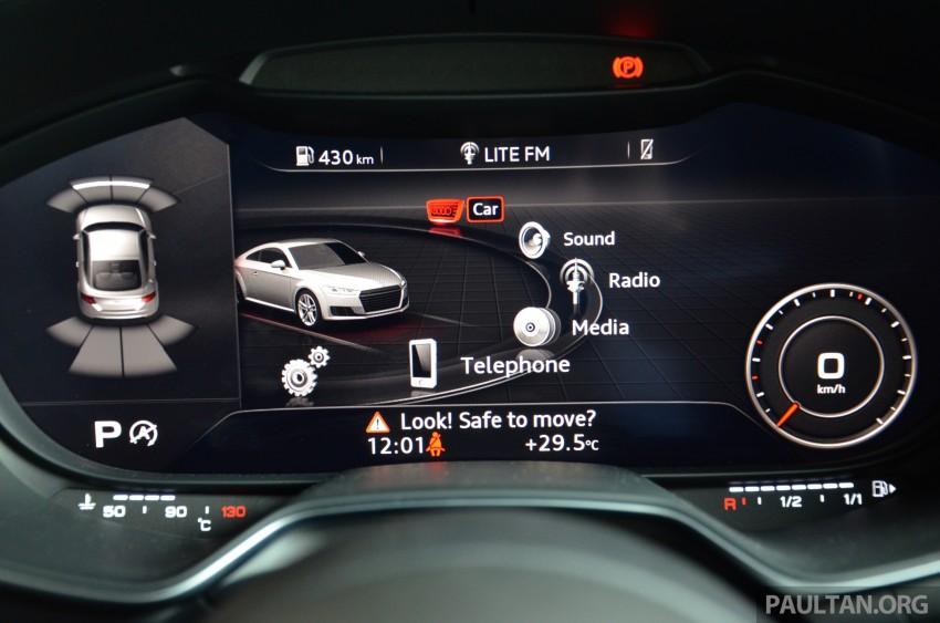 DRIVEN: 2015 Audi TT 2.0 TFSI – trading feel for speed Image #374954