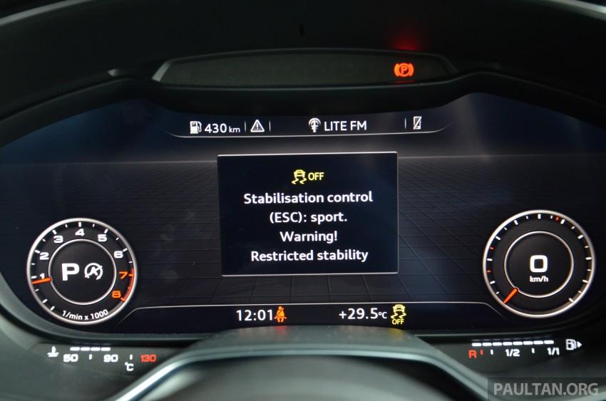 DRIVEN: 2015 Audi TT 2.0 TFSI – trading feel for speed Image #374955
