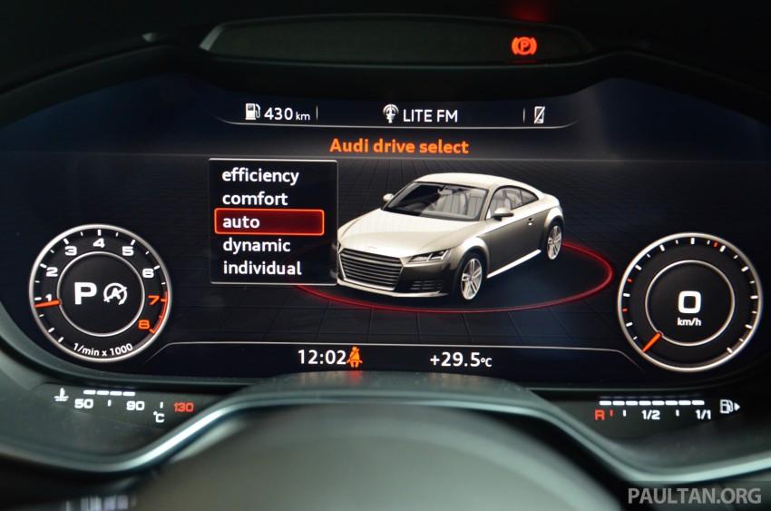 DRIVEN: 2015 Audi TT 2.0 TFSI – trading feel for speed Image #374956