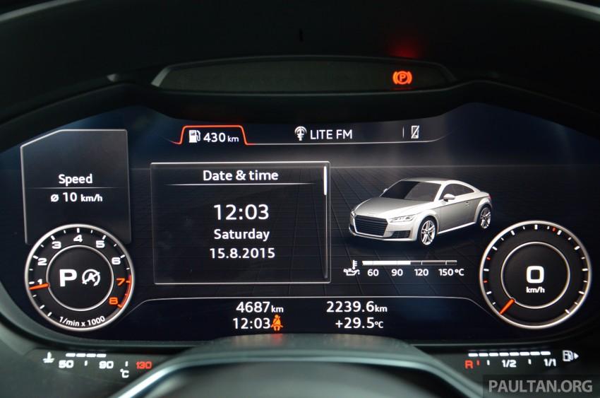 DRIVEN: 2015 Audi TT 2.0 TFSI – trading feel for speed Image #374957