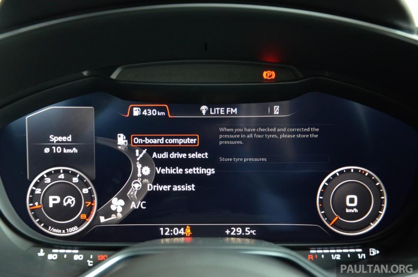 DRIVEN: 2015 Audi TT 2.0 TFSI – trading feel for speed Image #374958