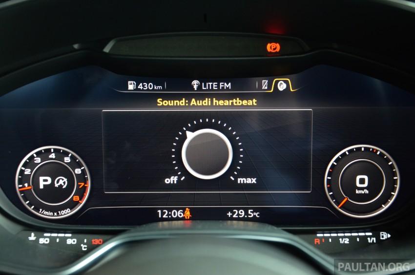 DRIVEN: 2015 Audi TT 2.0 TFSI – trading feel for speed Image #374961