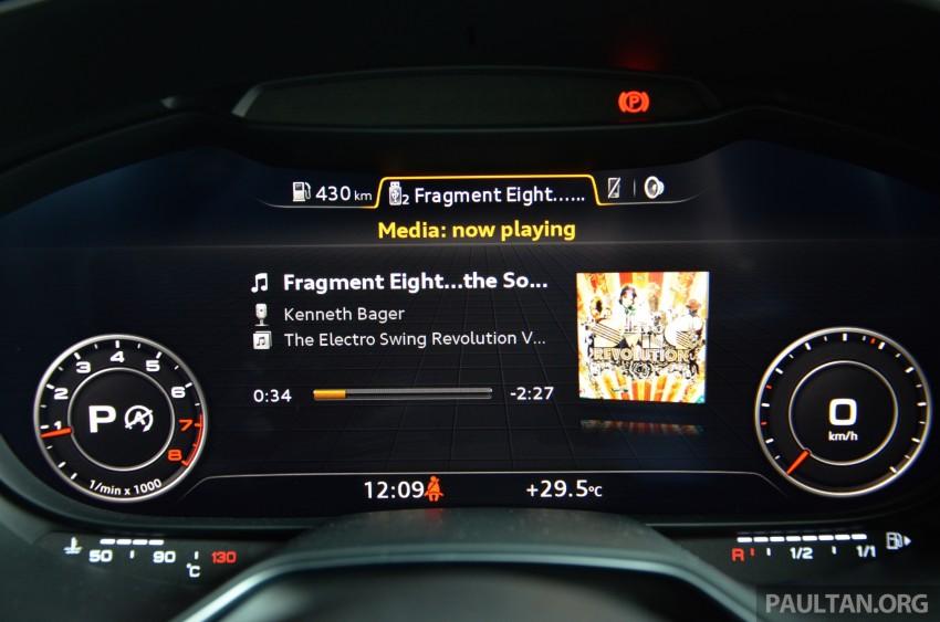 DRIVEN: 2015 Audi TT 2.0 TFSI – trading feel for speed Image #374962