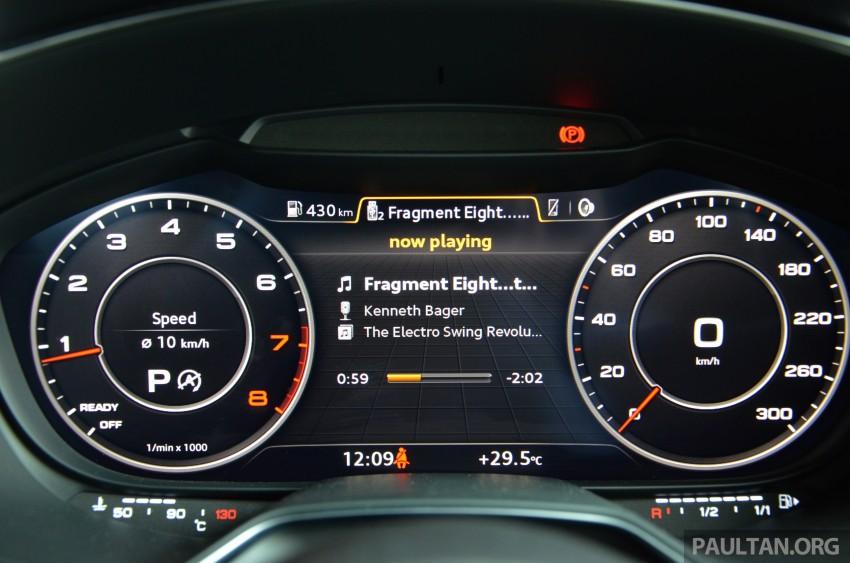 DRIVEN: 2015 Audi TT 2.0 TFSI – trading feel for speed Image #374963