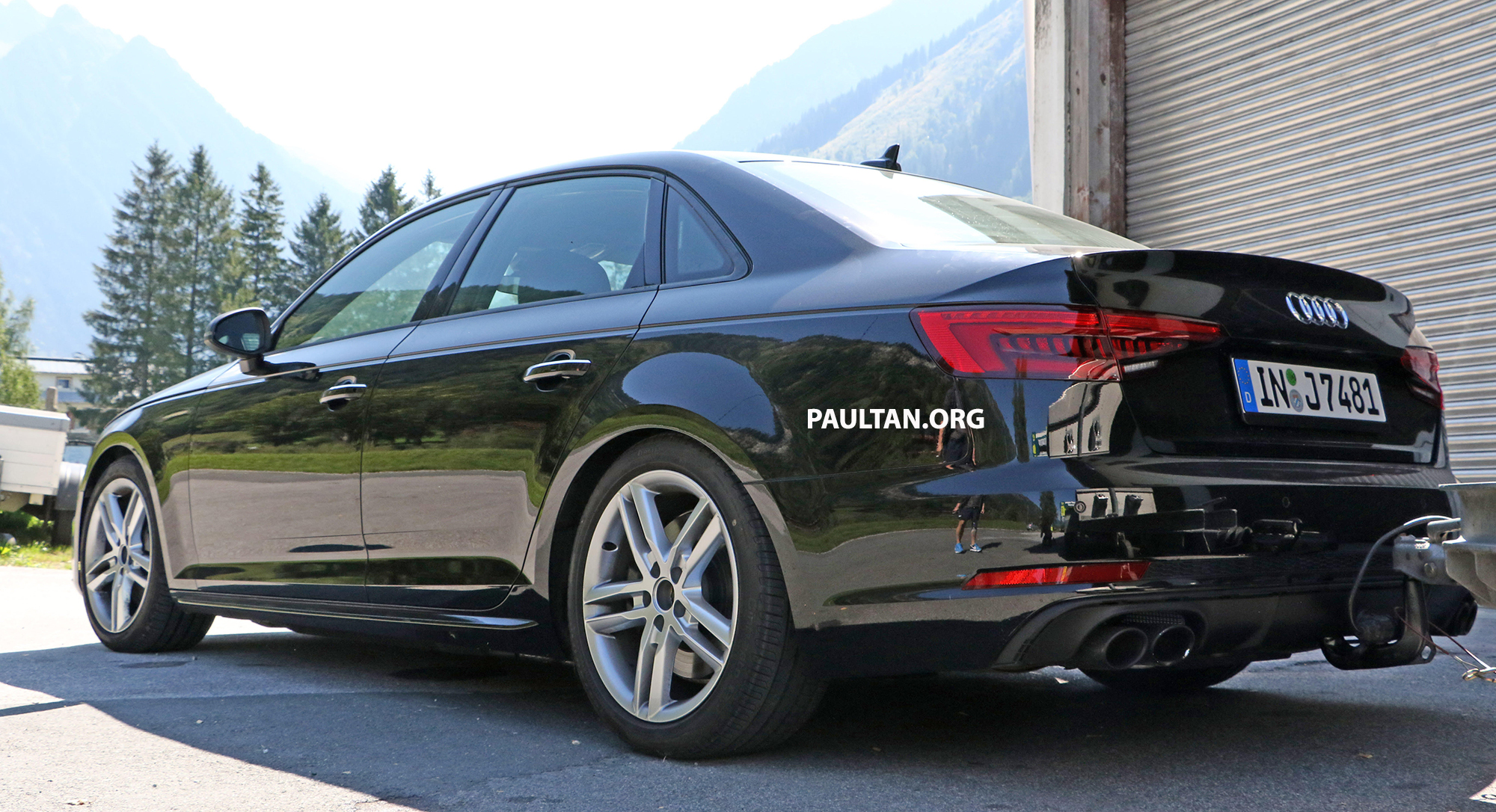 spyshots 2016 b9 audi s4 snapped undisguised image 374449. Black Bedroom Furniture Sets. Home Design Ideas