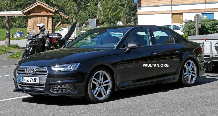 2017 audi a4 prototype drive review car and driver autos post. Black Bedroom Furniture Sets. Home Design Ideas