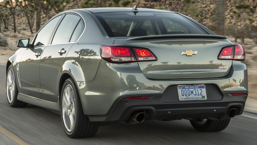 2016 Chevrolet SS gets facelift and dual mode exhaust Image #380933