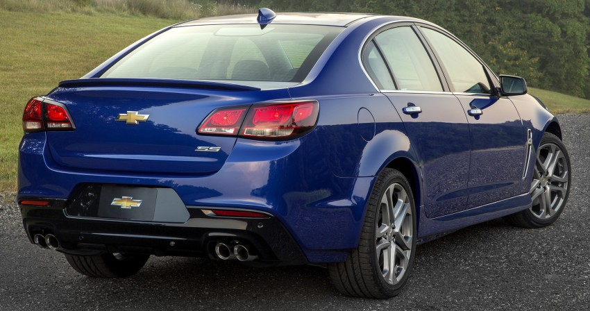 2016 Chevrolet SS gets facelift and dual mode exhaust Image #380934