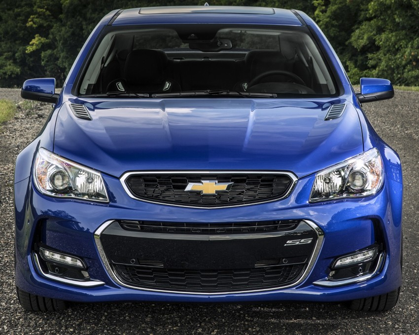 2016 Chevrolet SS gets facelift and dual mode exhaust Image #380935