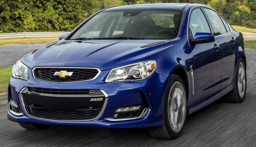 2016 Chevrolet SS gets facelift and dual mode exhaust Image #380936