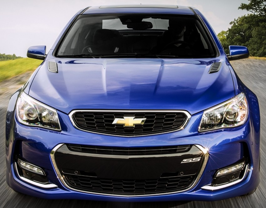 2016 Chevrolet SS gets facelift and dual mode exhaust Image #380937