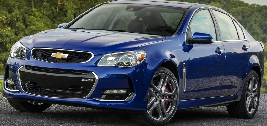 2016 Chevrolet SS gets facelift and dual mode exhaust Image #380939