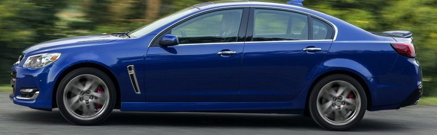 2016 Chevrolet SS gets facelift and dual mode exhaust Image #380940