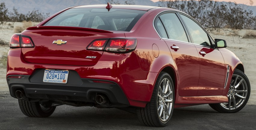 2016 Chevrolet SS gets facelift and dual mode exhaust Image #380924