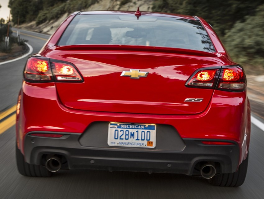 2016 Chevrolet SS gets facelift and dual mode exhaust Image #380925