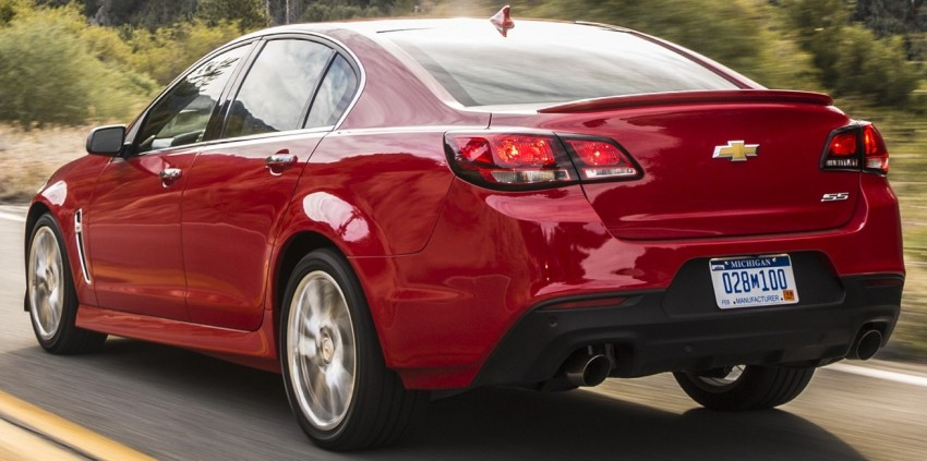 2016 Chevrolet SS gets facelift and dual mode exhaust Image #380926