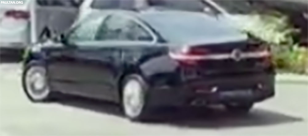 Back to Story: 2016 Proton Perdana revealed in Filem Kapsul clip?