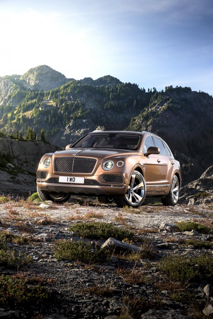 2016 Bentley Bentayga – world's fastest SUV revealed! Image #377427