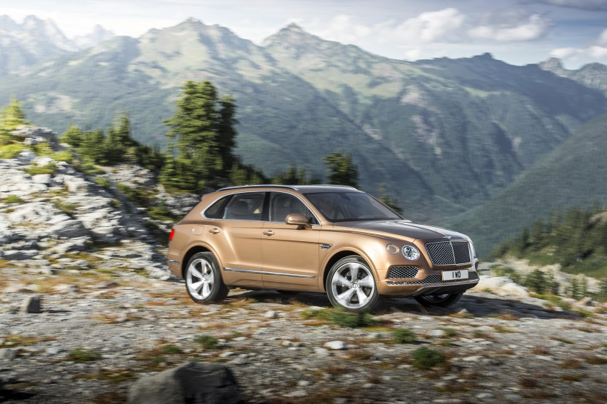 2016 Bentley Bentayga – world's fastest SUV revealed! Image #377431