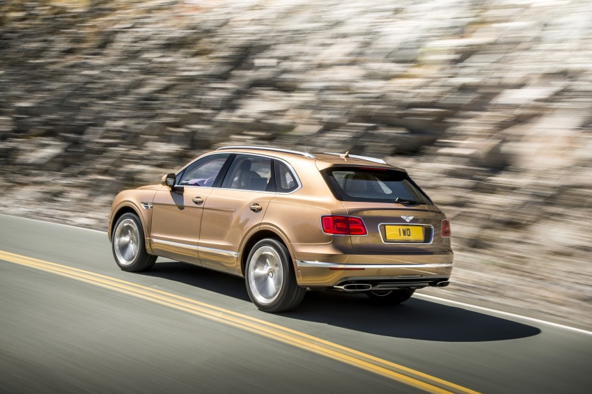2016 Bentley Bentayga – world's fastest SUV revealed! Image #377433