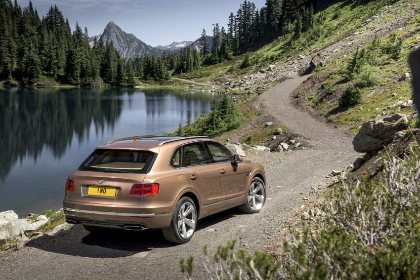 2016 Bentley Bentayga – world's fastest SUV revealed! Image #377434