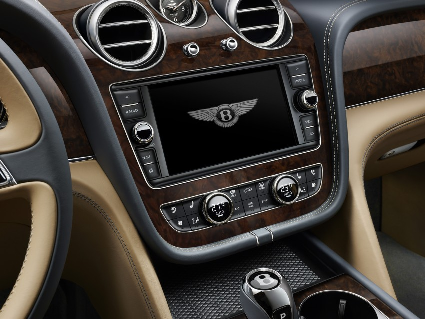 2016 Bentley Bentayga – world's fastest SUV revealed! Image #377453