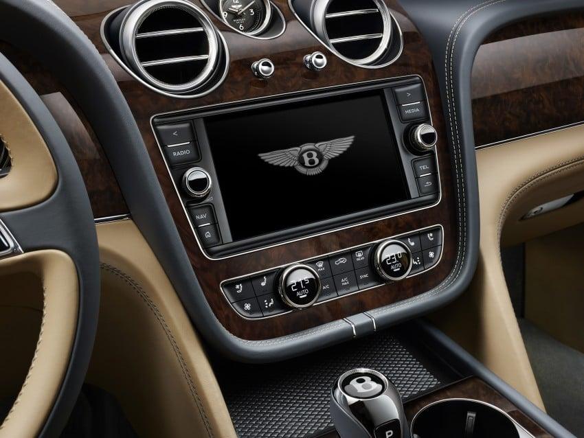 2016 Bentley Bentayga – world's fastest SUV revealed! Image #377453
