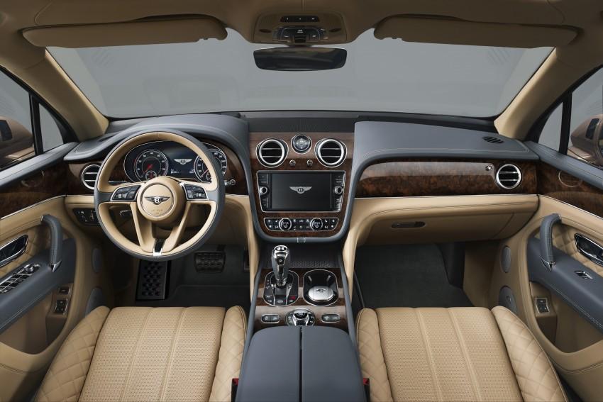 2016 Bentley Bentayga – world's fastest SUV revealed! Image #377455
