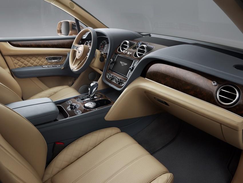 2016 Bentley Bentayga – world's fastest SUV revealed! Image #377456